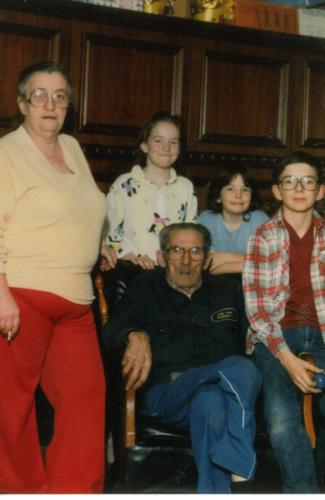 Pappy,Granny, Dorothy,Shirley, and Harold